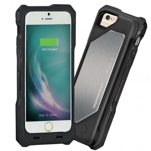 Promate Heavy Duty Rugged Battery Case 2500mAh Lithium Polymer for iPhone 6/6s