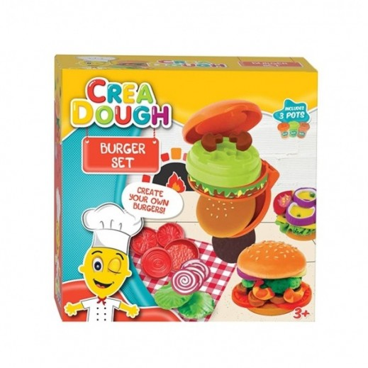 Five Stars Crea Dough Burger Set