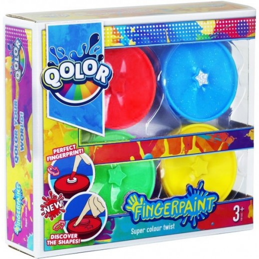 Five Stars Qolor Finger Paint