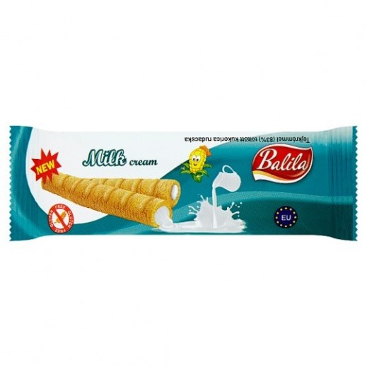 Balila Puffy Corn Fingers Filled w/ Milk Cream 15 g