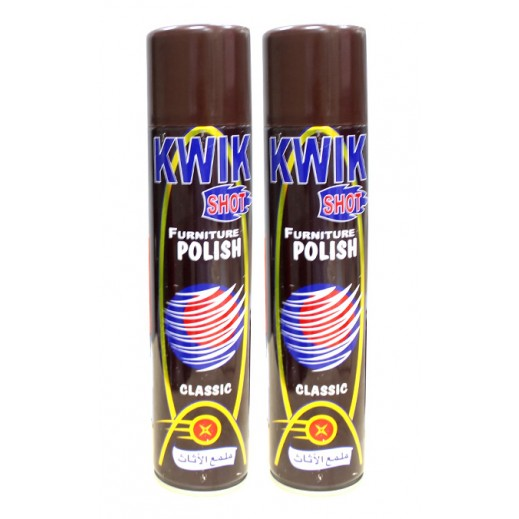 Kwik Shot furniture Polish 2x330 ml