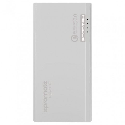 Promate BoltQC 9,000mAh Quick Charge 3.0 Portable Robust Backup Battery