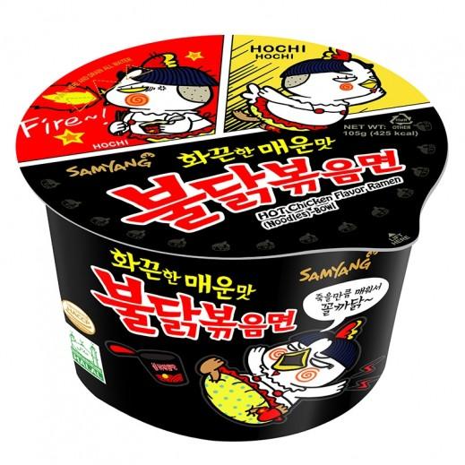 Samyang Hot Spicy Chicken Ramen Bowl 105 g