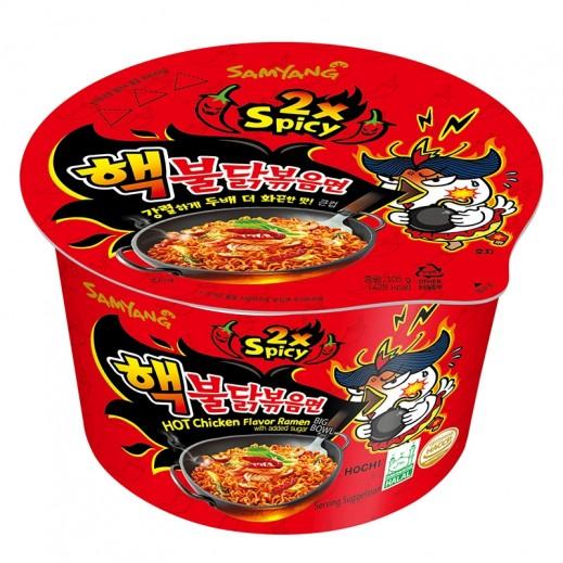 Samyang Hot Chicken Ramen 2X Spicy Big Bowl 105 g