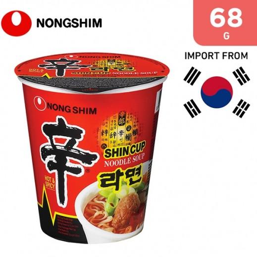 Nongshim Shin Raman Cup Noodle 68 g