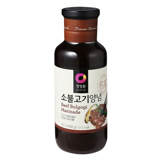 Chungjungwon Beef Rib Spicy Marinade Sauce 500 g