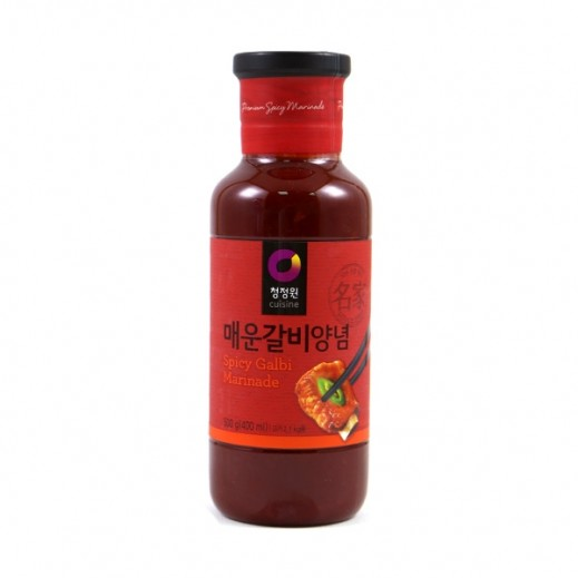 Chungjungwon Beef Rib Marinade Sauce Spicy 500 g