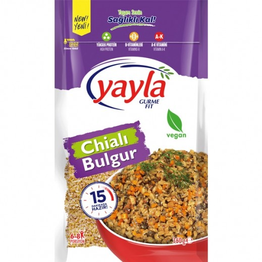 Yayla Gurme Fit Chia With Bulghur 360 g
