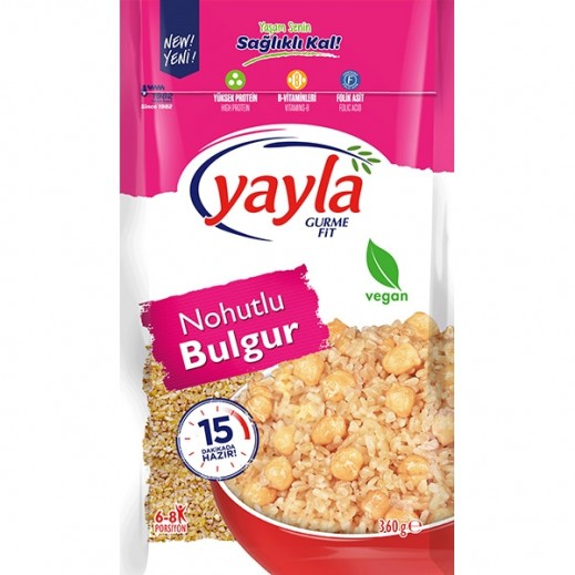 Yayla Gurme Fit Chickpea With Bulghur 360 g