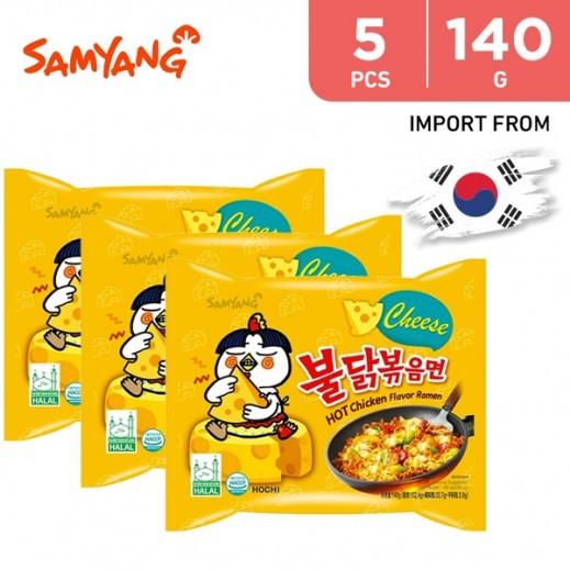 Samyang Hot Chicken Ramen Cheese 5 x 140 g
