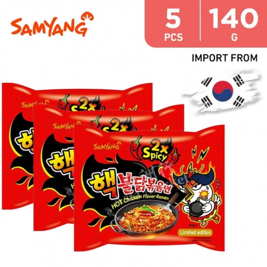 Samyang Hot Chicken Ramen 5 x 140 g
