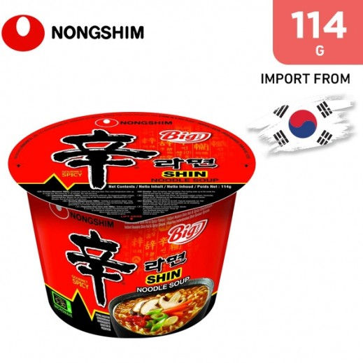 Nongshim Shin Ramen Big Bowl 114 g