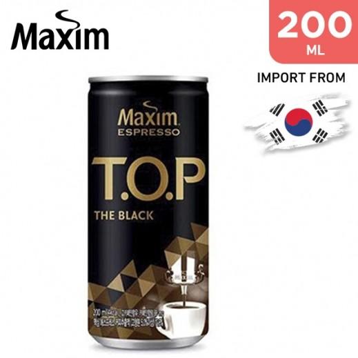 Dongseo Maxim T.O.P Black Coffee 200 ml