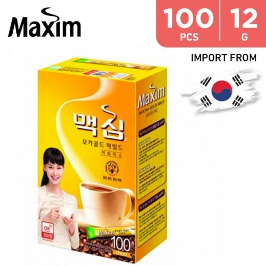Dongseo Maxim Mocha Gold Mild Bulk 12 g (100 Sticks)