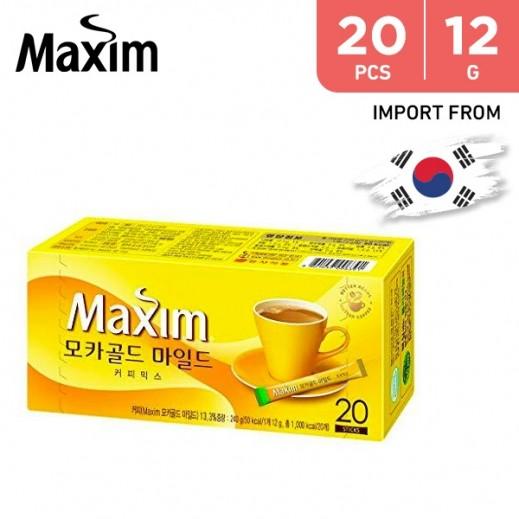 Dongseo Maxim Mocha Gold Mild 12 g (20 Sticks)