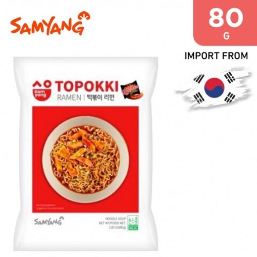 Samayng Toppoki Ramen Mini 80 g