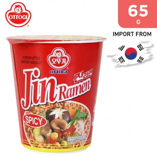 Ottogi Jin Spicy Ramen Cup 65 g