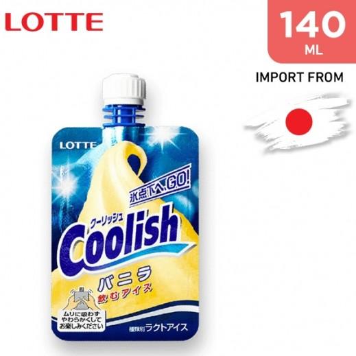 Lotte Coolish Vanilla Ice Cream 140 ml