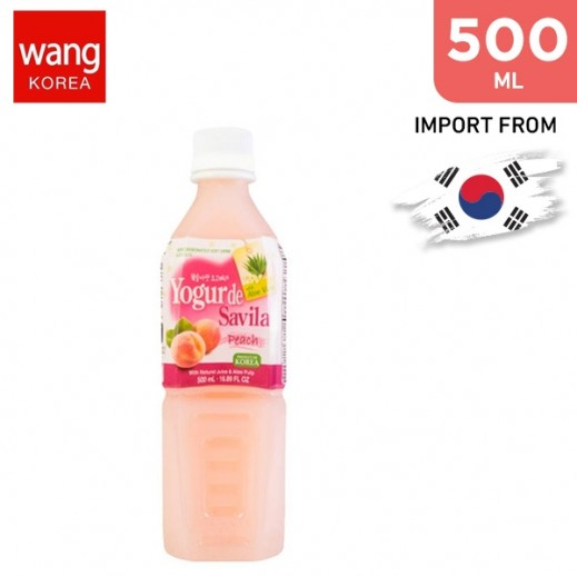 Wang Yogo Vera Peach Drink 500 ml