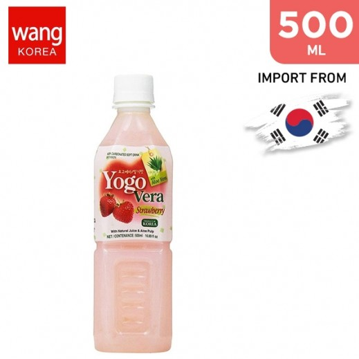 Wang Yogo Vera Strawberry Drink 500 ml