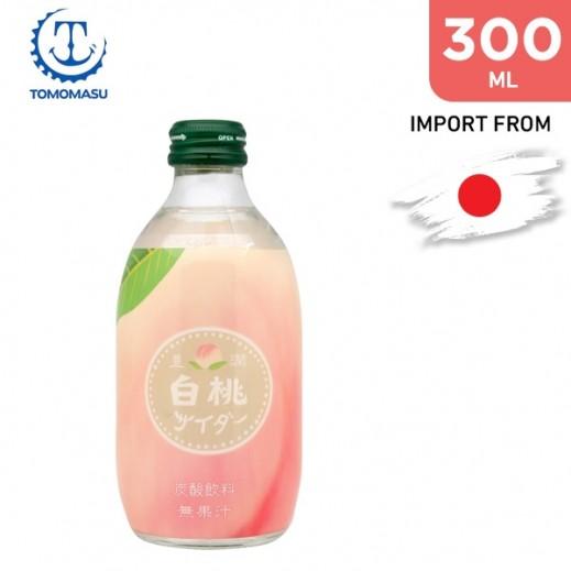 Tomomasu White Peach Soda 300 ml