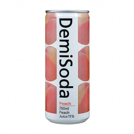 Dong A Demi Soda Peach 250 ml
