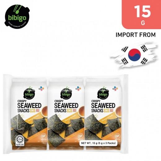 Bibigo Seasoned Laver Snack Original 15 g
