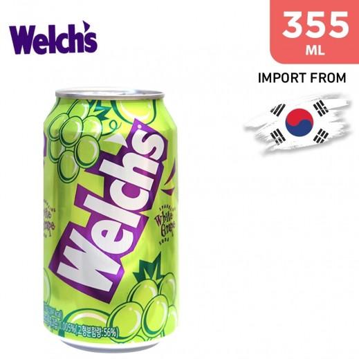 Welch's Sparkling White Grape Soda 355 ml