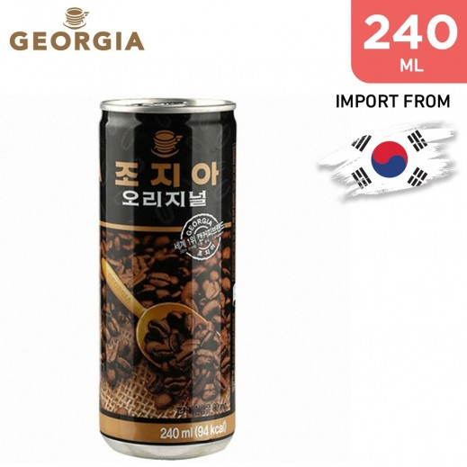 Georgia Canned Coffee Georgia Original 240 ml