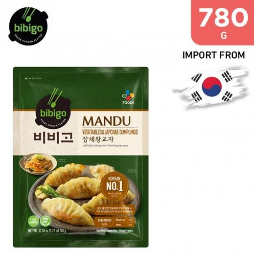 Bibigo Vegetables & Japchae Dumplings 780 g