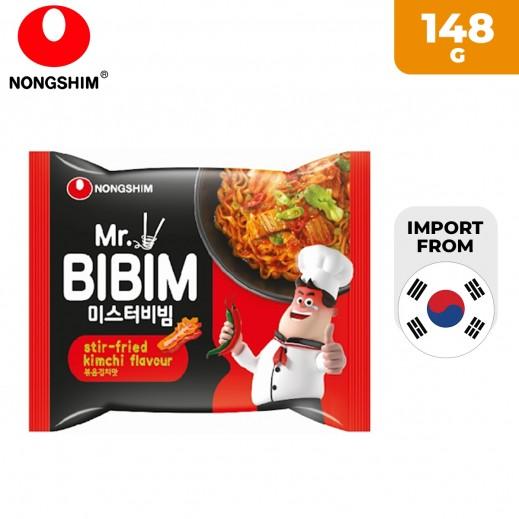 Nohgshim Mr. Bibim Ramen Stir Fried Kimchi 148 g