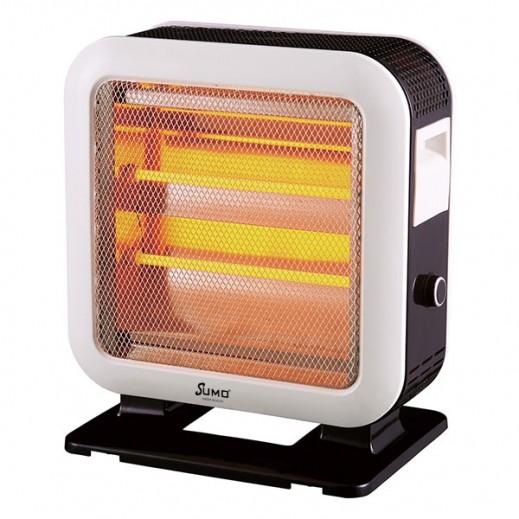 Sumo Quartz Heater 1600W - Black & White