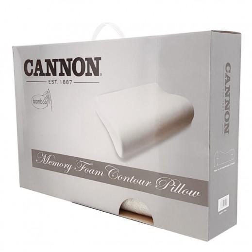 Buy Cannon Bamboo Memory Foam Contour Pillow 61x40x12 Cm