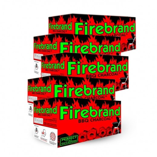Wholesale - Firebrand Barbeque Charcoal 5 x10 kg