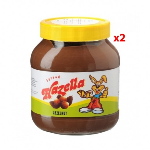 Hazella Spread Assorted 2 x 350 g