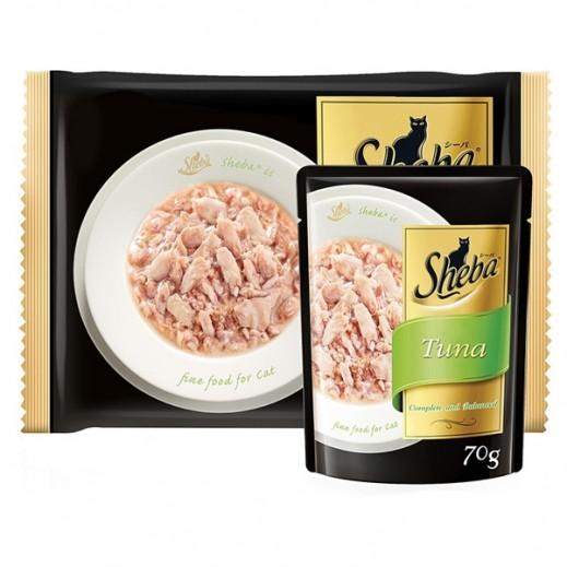 Wholesale - Sheba Tuna Wet Cat Food 6x70 g