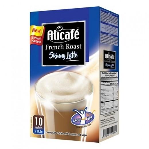Alicafe French Roast Skinny Latte Low Fat Box 10 x 14.5 g