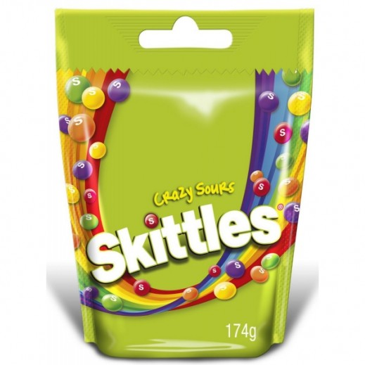 Skittles Crazy Sours 174 g