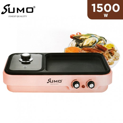 Sumo Electric Grill 1500W - Pink