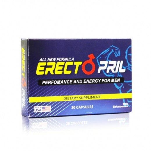 Erectopril Perfomance And Energy Dietary Suppliment For Men 30 Capsules