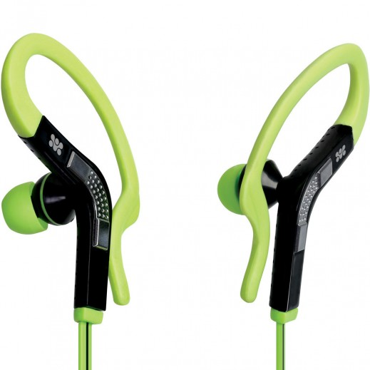 Promate Snazzy Universal Sporty Stereo Gear-Buds Green
