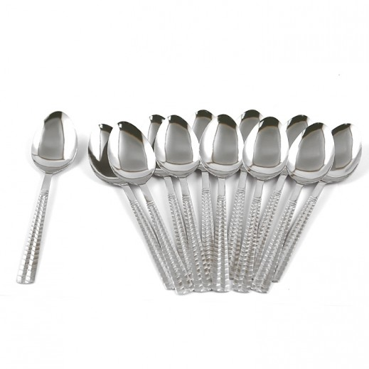 ASC Stainless Steel Desert Spoon - 12 Pieces