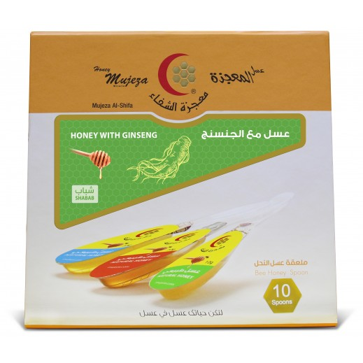 Mujezat Al Shifa Honey Sidr With Ginseng 10 spoon x 15 g