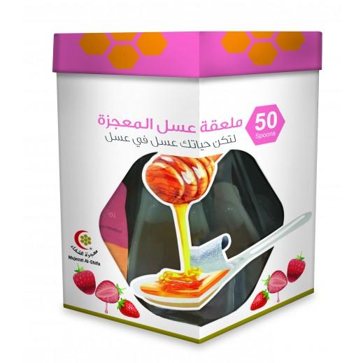 Mujezat Al Shifa Honey Strawberry Spoon 50's 10 g