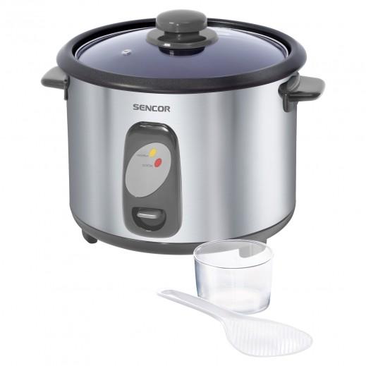 Sencor Rice Cooker 1.8 L 700 W - Stainless Steel