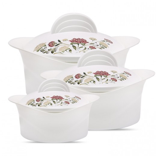 Milton Regalia Casserole Set - 3 Pieces