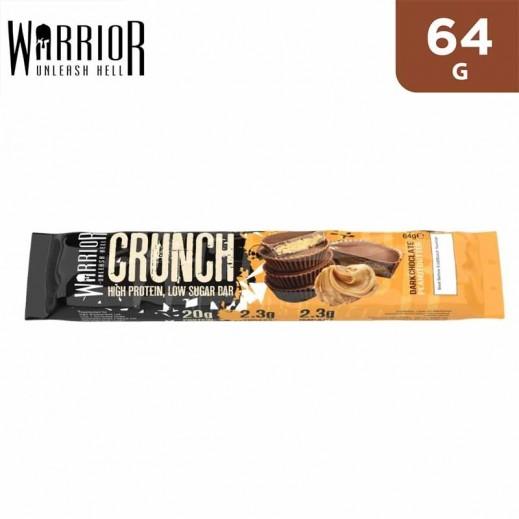 Warrior Crunch Protein Peanut Butter Flavor Dark Chocolate Bar 64 g