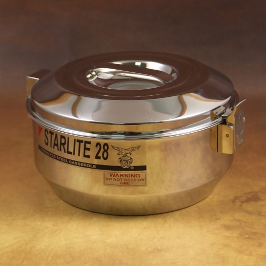 Eagle Starlite Stainless Steel Casserole 2.8 L