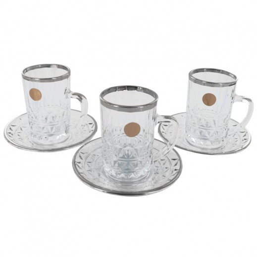 Unicera Japan Ishtikana 12 pieces Set Clear-Silver
