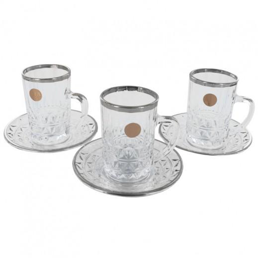 Unicera Japan Ishtikana 12 pieces Set Clear-Silver